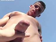 Cody's handjob adventure