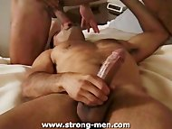 Latin Hunk Sucking a Big ...