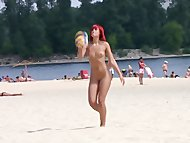 Hot teen nudists make thi...