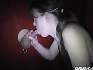 My wife drains a cock at …