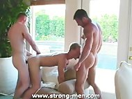 Threesome Hardcore Gay Sex
