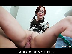 Tube8 - Czech redhead is paid ...