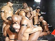 Black Leather Breeding Orgy
