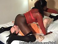 Big black dominant lady w...