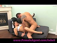 FemaleAgent. MILF cums al...