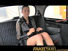 FakeTaxi No money  so she pays with her pussy