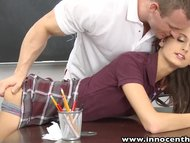 innocenthigh-smalltits-schoolgirl-teen-rides-teachers-cock