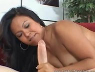 Asian Hottie Handjob Big ...