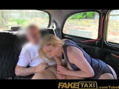 Faketaxi mature blonde accepts naughty proposal