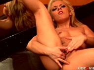 Blonde Teen Squirts When ...