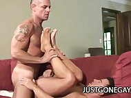 Handsome Dilfs John Markus And Dominik Rider Sensational Gays Fucking