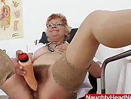 Woolly grandma unshaved t...