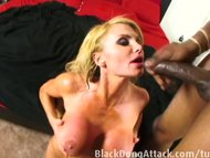Blond milf getting fucked…