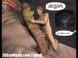 JACK AND THE BEANSTALK 3D Gay Cartoon Animated Comics Or Anime Hentai Toons