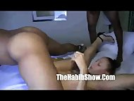 Mixed puerto Rican Ms.Natural Gangbanged by rome major 2