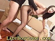 Loving Ladyboy With Small...