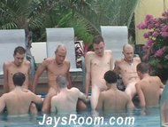 Pool Party Cum Junkies
