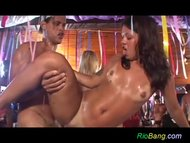 rio beach anal fuck party...