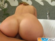 Pure POV cowgirl with big...
