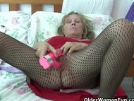 Granny with big tits wear...