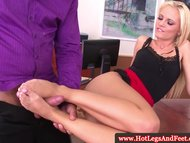 Vanda Lust in office suck...