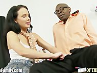 EXCLUSIVE: Teen Fucks Black Step-Daddy