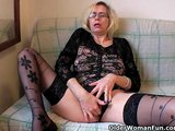 Perverted granny pushes h..