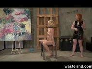 FemDom Punishing her Fema...
