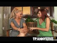 Tranny Slut Sheila And Red Hair Cynthia