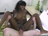 TeenyBlack fucking a tight pussy ebony teen