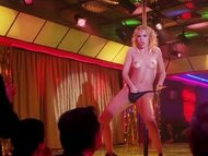 Gina Gershon, Elizabeth Barkley and Rena Riffel - Nude scene from Showgirls