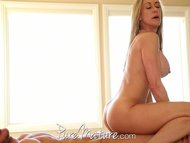 PureMature Horny MILF makes online hookup with stud
