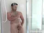 Straight Guy Johnny Masturbating His Giant Cock