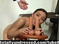 Kinky job interview for s...