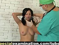 Examined by horny gynecol...