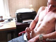 Tattooed Straight Guy Cha...