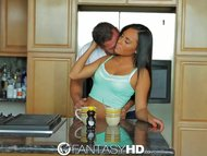 FantasyHD Teen's huge tit...