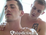 ManRoyale Sensual massage turns into hot sex