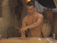 Massaging The Genitals Le...