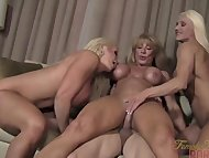 Three Muscle Babes and On...