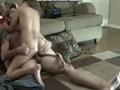Real amateur sex with busty gf