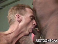 Black Stud Fucks Old White Guy