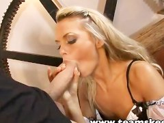 TeamSkeet Smalltits blonde babe Sabrina big cock sex