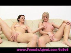 FemaleAgent  Let s wank together