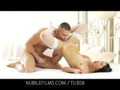 Nubile Films   Shoot your cum load on her perfect round ass