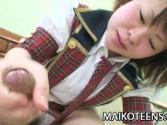 Mayu Nakane   Youthful Japanese Enjoying Hard Cock