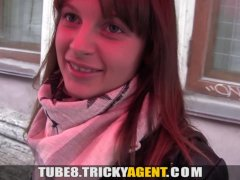 Tricky Agent   A girl rescued from the rain gets seduced