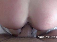 Angela White   Huge Facial POV