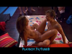 Four single swingers s... video