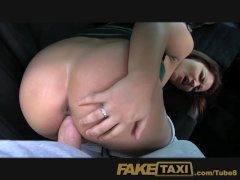 FakeTaxi Your choice suck my big cock or walk